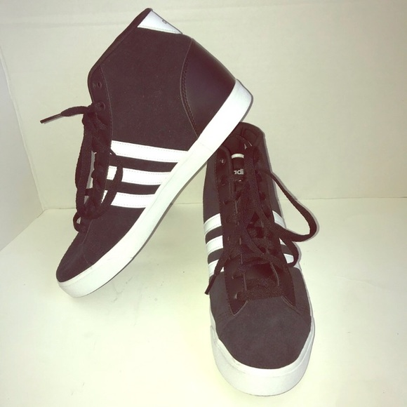 921c9b9ade0f7a Adidas Shoes - 🆕 Adidas Neo high top sneakers  NWOT